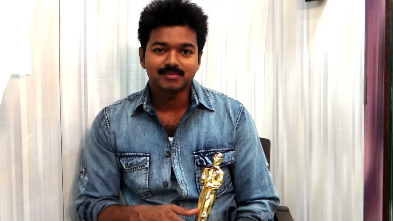 Techofes Awards  Ceg Anna University Best Actor For Thuppakki Vijay Youtube