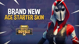*BRAND NEW* Ace Starter Skin!! Fortnite Battle Royale Gameplay - Ninja thumbnail