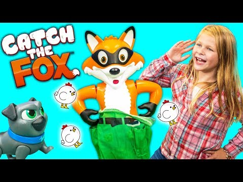 CATCH THE FOX PJ Masks Plays the Assistant and JoJo Siwa for a Surprise Egg Toys