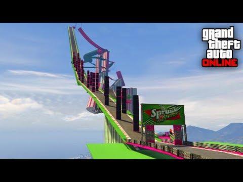 SUPER IMPOSIBLE SUBIR POR AQUI!!! - CARRERA GTA V ONLINE - GTA 5 ONLINE