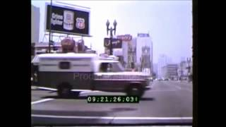 Los Angeles Downtown Early 1970