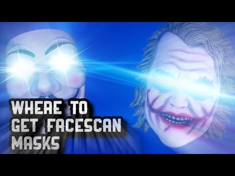WHERE TO GET FACESCAN MASK'S!🧪🧀🧪 NBA 2K20
