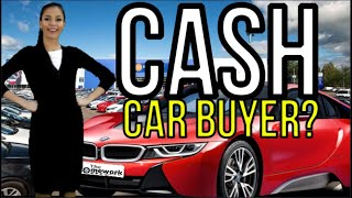 "DON'T SAY ""I'M PAYING CASH!"" at CAR DEALERSHIPS - Auto Expert: The Homework Guy, Kevin Hunter"