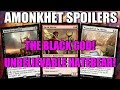 Mtg: Amonkhet Spoilers: The Black God, INCREDIBLE Red Hatebear, and Pillow Forts!!!