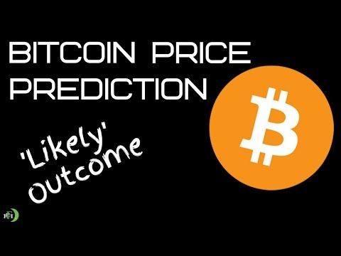 BITCOIN PRICE PREDICTION 'LIKELY OUTCOME'
