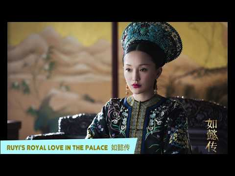 Royal Styles Between Ruyi's Royal Love In The Palace V.s Empresses In The Palace 皇室服饰--如懿传vs甄嬛传