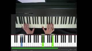 R.E.M., Nigth Swimming, piano