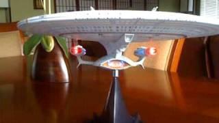 "Diamond Select Star Trek ""All Good Things"" Enterprise-D ship"