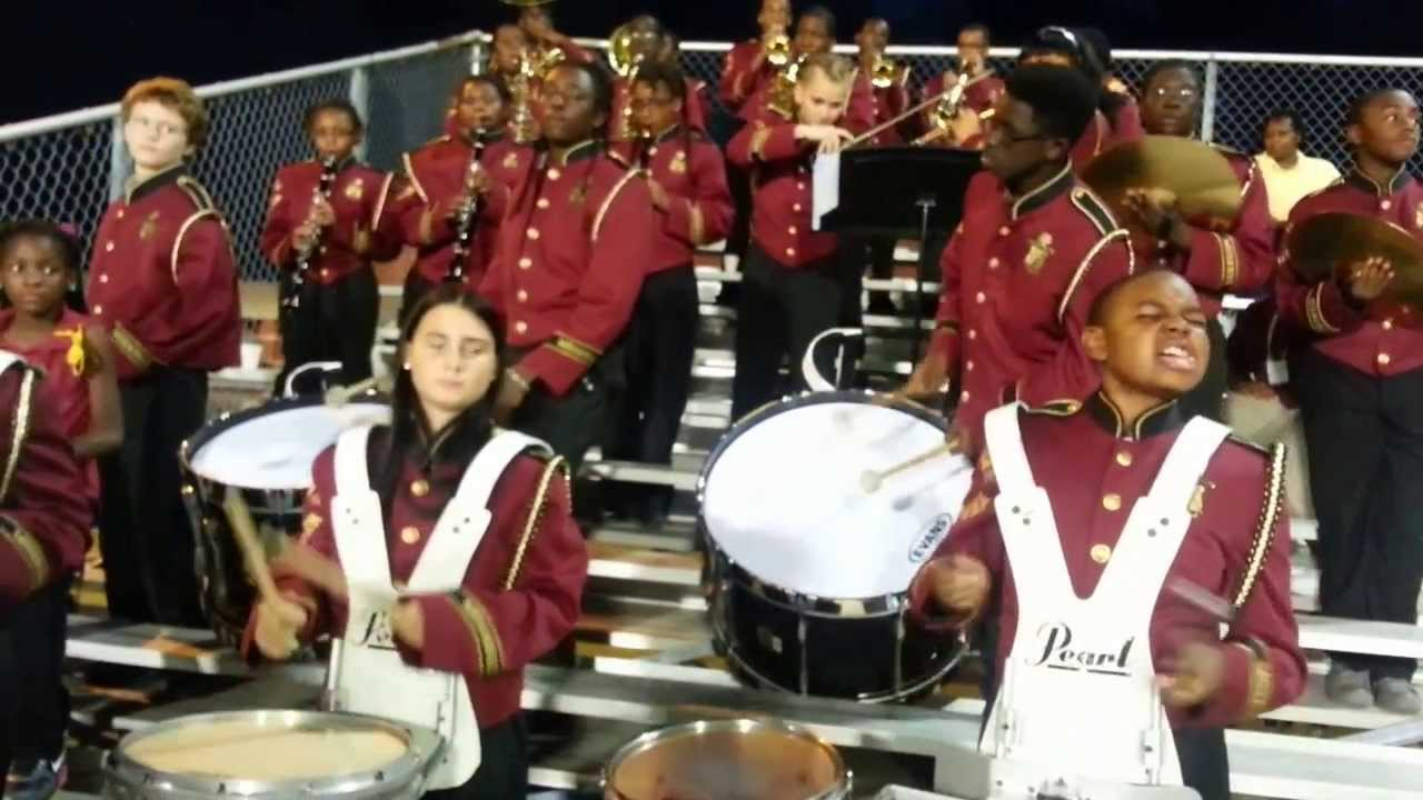 bethune bowman middle high cheerleading and band
