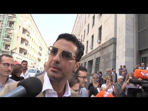 Milano, Corona in tribunale: 'Appello assurdo, posso difendermi da solo'.