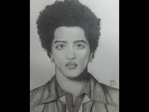 Drawing the best Bruno Mars - Draw Peter Gene Hernández ...