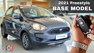 2021 Ford Freestyle Base Model BS6 | OnRoad Price List | Mileage | Features | Interior