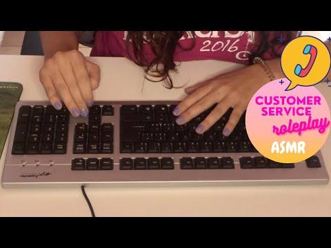 ☎️ASMR☎️ Customer Service – Telephone Roleplay (Ita accent)