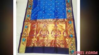 latest handloom  same designs with various colours