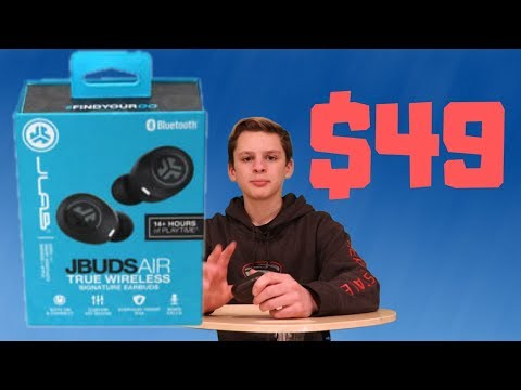 JLab Jbuds Air - Unboxing + Review. BEST WIRELESS EARBUDS?!