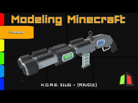 3D Modelling Minecraft |