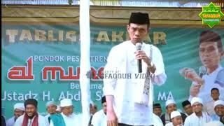 Lagi - Lagi , Ustadz Abdul Somad Marah Karena Orang Orang Mengejek Yang Memakai Cadar