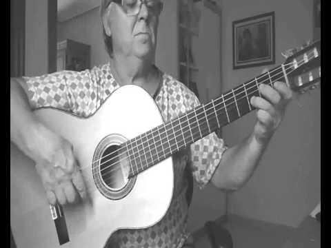 Escala flamenca de mi mayor con dos octavas.