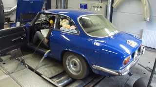 Alfa Romeo GT 1300 Lusso - Dyno Run at Beek Auto Racing