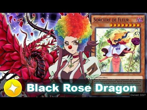 Black Rose Dragon Ft. Sorciere De Fleur, Vermillion (Yu-Gi-Oh! Duel Links, New Box Blazing Rose)