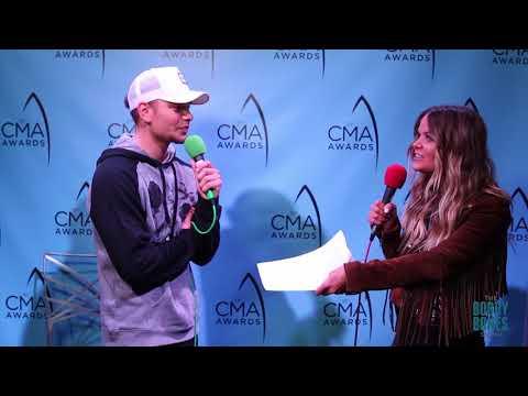Kane Brown at the 51st CMA Awards