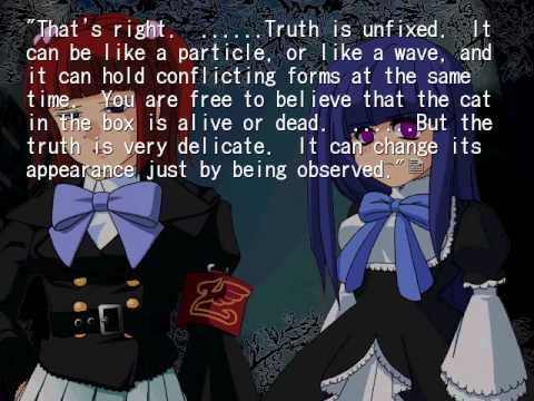 Umineko Alliance Of The Golden Witch Part 3 Without Love The Truth