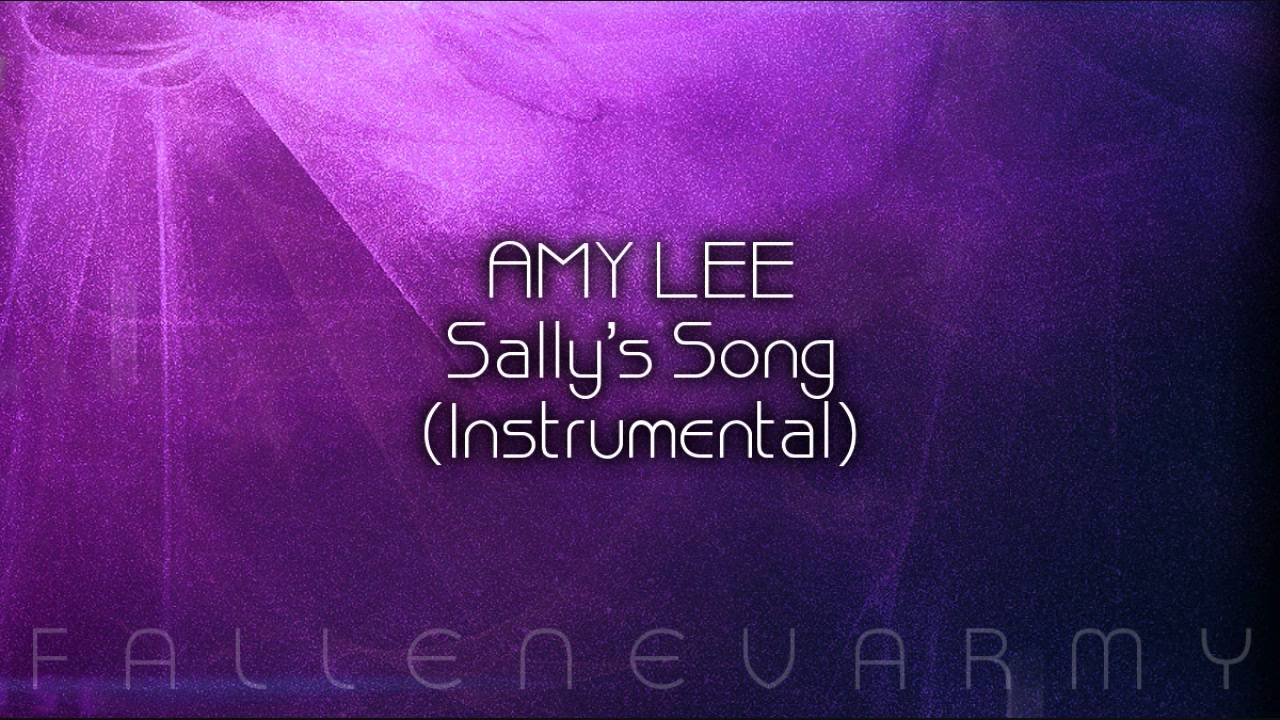 Amy Lee - Sally's Song (Instrumental) - YouTube