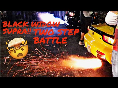 BLACK WIDOW SUPRA & GOLD DIGGER TWO STEP + CARS CATCH FIRE!! - ELITE TUNER FLORIDA 2020