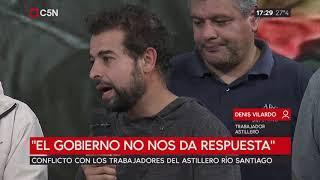 Astillero Río Santiago: La Justicia ratificó los descuentos a los trabajadores (parte 1)