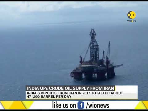 India UPs crude oil supply from Iran