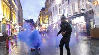 Hover Board Explosion in Public