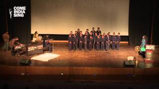 Group Singing Performance: (Patriotic Song) by students of Ridge Valley School