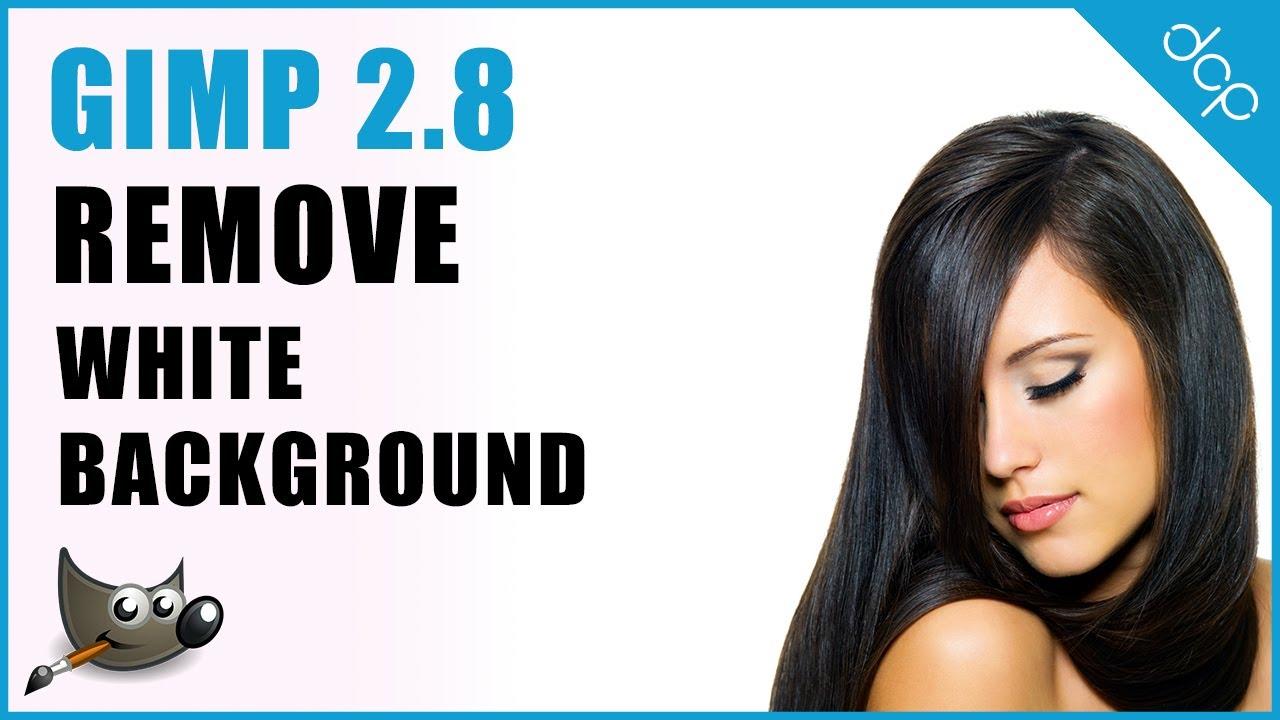 GIMP 2 8 Transparent Background | Remove White Background | Image Editing