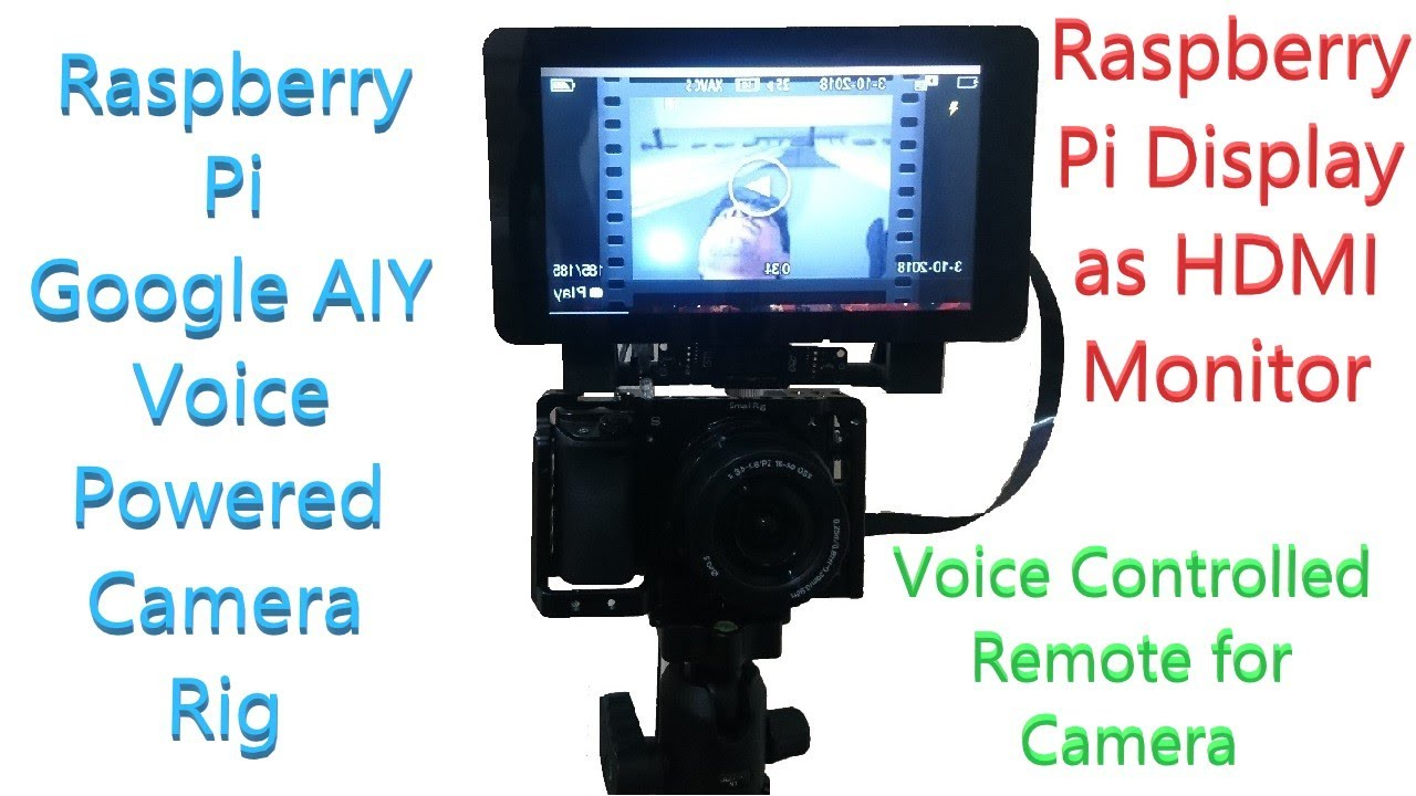 Voice Controlled Professional Camera Hackster Io