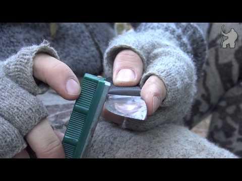 Vedlikehold: Knivsliping - keramisk bryne
