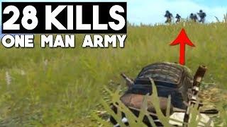 FULL SQUAD VS ME!   28 KILLS SOLO vs Squad   PUBG Mobile