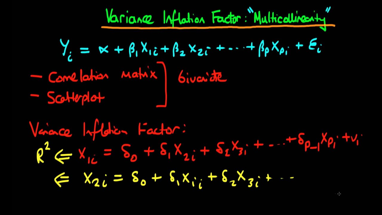 Variance Inflation Factors: testing for multicollinearity ...