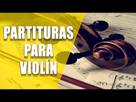 Vine a adorarte (Partitura Violin)