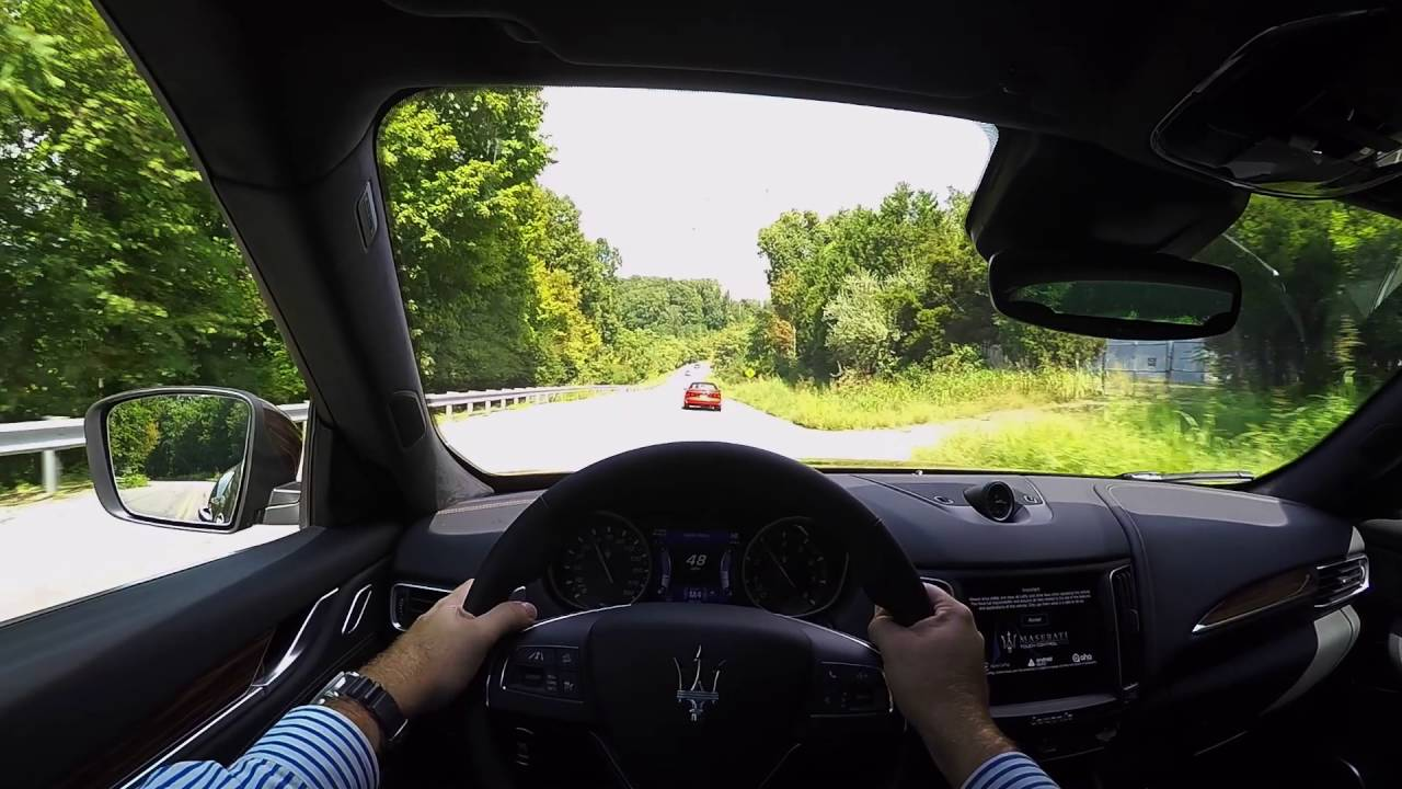 2017 Maserati Levante S POV Test Drive