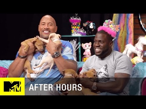 Thumbnail: Adorable-Off: Kevin Hart vs. Dwayne 'The Rock' Johnson (Central Intelligence) | MTV After Hours