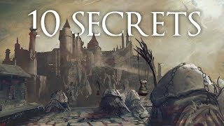 Soulsborne Cut Content ► 10 Hidden Secrets