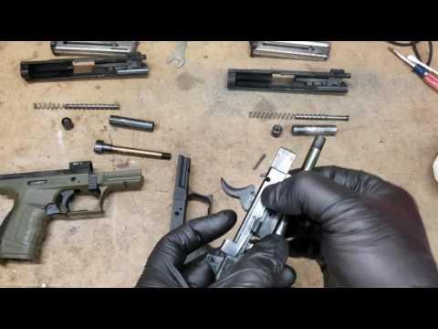 Walter P22: Stuck barrel removal