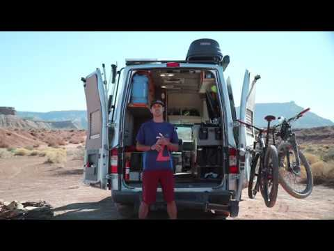 Van Tour of a Full Time Van Lifer: DIY Nissan NV Live/Work Conversion Van