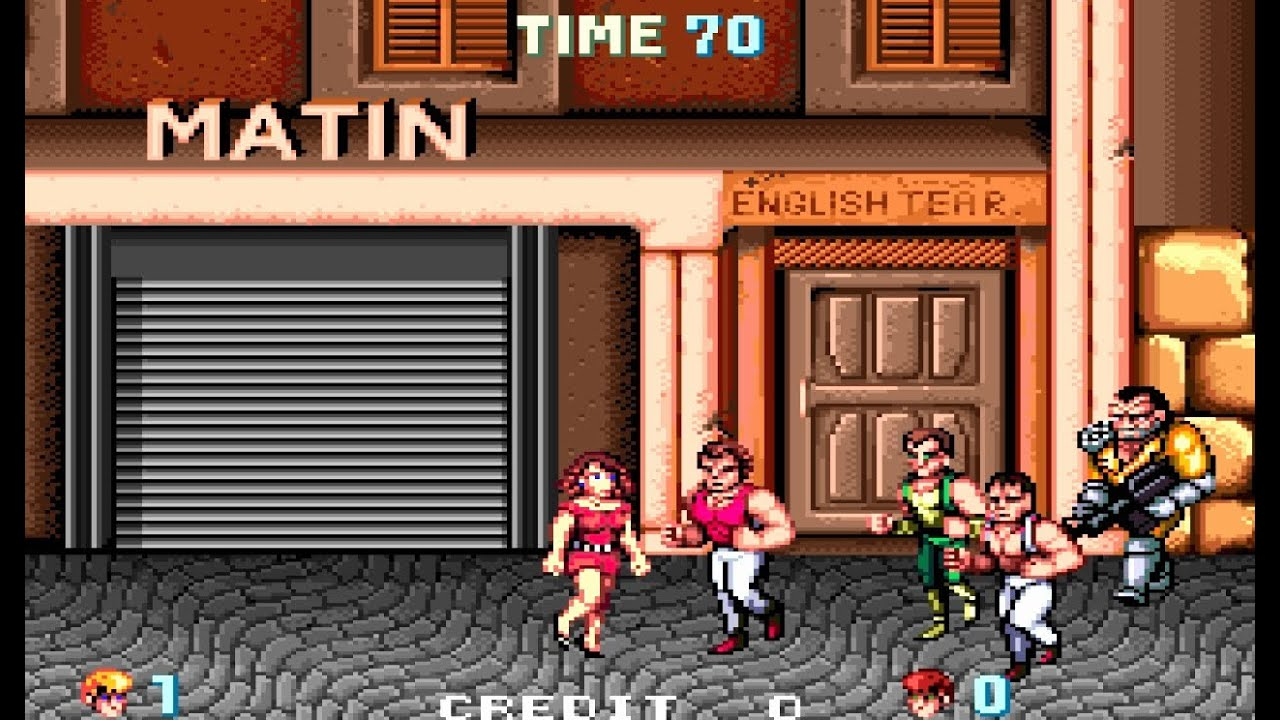 Double dragon arcade for sale