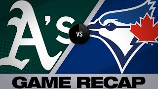 4/28/19: Blue Jays come back in 11th to defeat A's