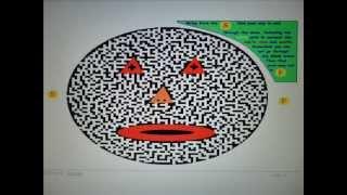 Can U Puzzle It (5) childrens puzzle Big Face Maze