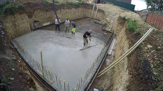 New Build Project in Portsmouth; Foundation Pour