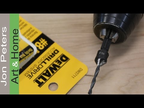 Tools & Tips Tuesday #1: Why use a Pre Drill and Countersink Bit.
