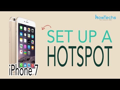 How to set up personal hotspot iphone 7 plus