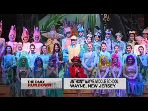 """Under The Sea"" on TV (Anthony Wayne Middle School)"
